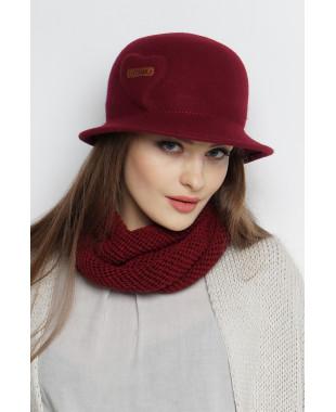Шляпа из фетра с 3D эффектом